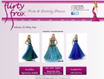 Web Design Nottingham - Flirty Frox Prom Dresses