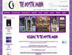 Web Design Nottingham - The Mystic Moon Shop