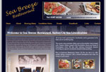 Web Design Nottingham - Seabreeze Restaurant